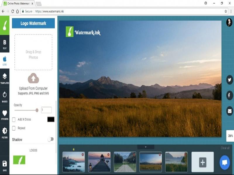 Online Photo Watermarker