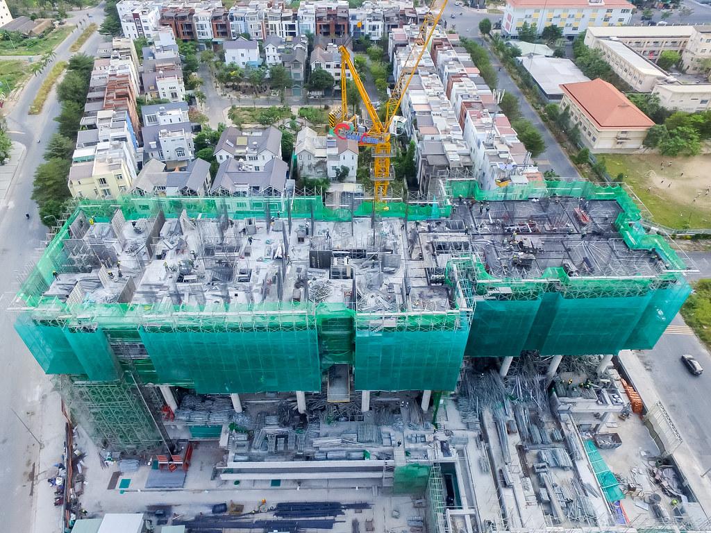 Tiến độ xây dựng căn hộ One Verandah 03-2019 2