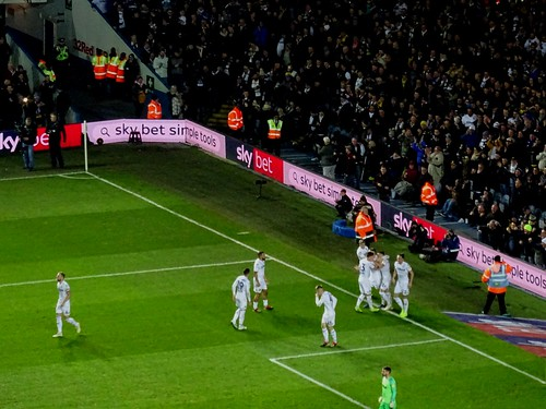 Leeds United v Derby County @ Elland Road, Leeds 11/1/2019