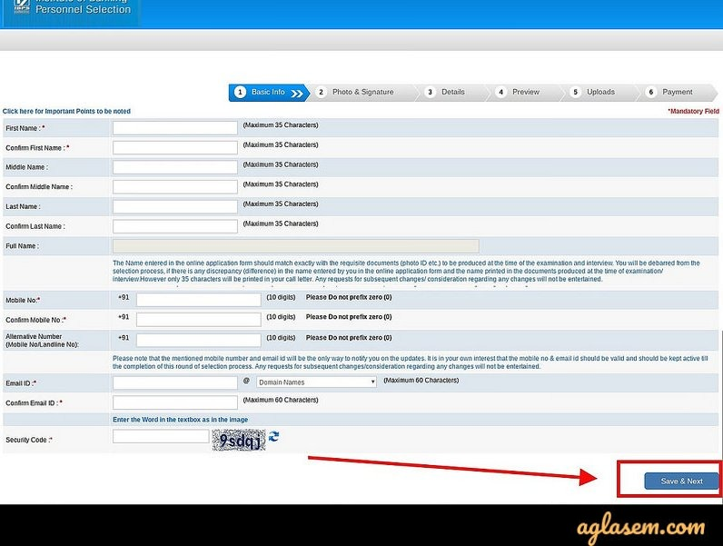 IBPS SO Application Form 2020