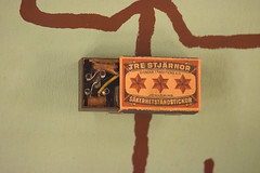 Resistance radio hidden in a matchbox