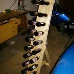 Bierflaschenständer