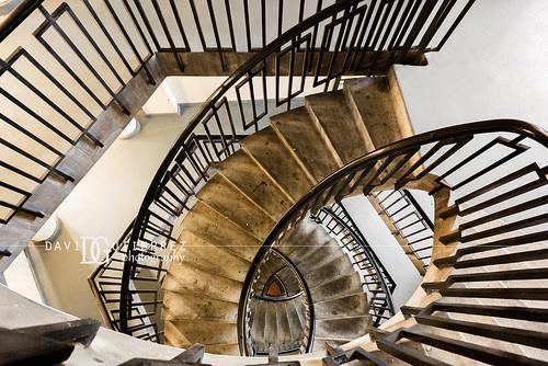Stair Maze (II) - Dorset Estate - George Loveless House, Bethnal Green, London, UK | by davidgutierrez.co.uk