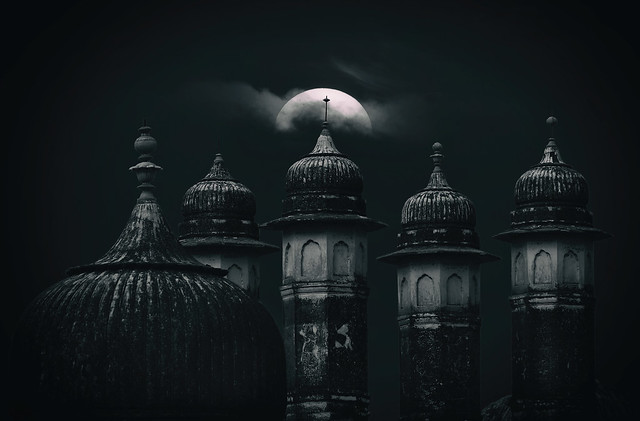 Blue Moon over Bikaner