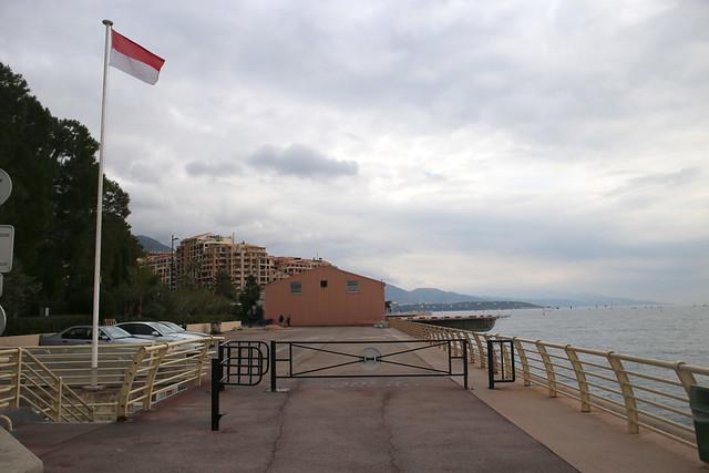 Entering Monaco from Cap D'Ali
