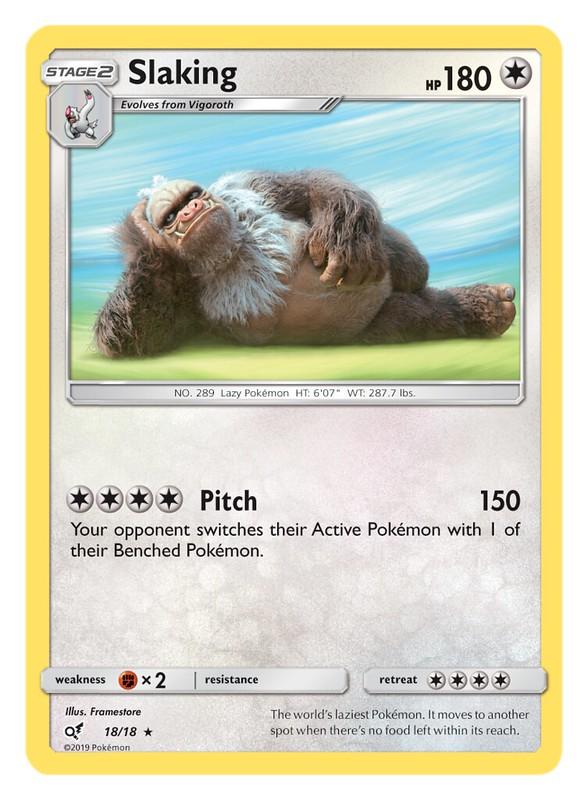 Pokémon TCG Detective Pikachu_Slaking