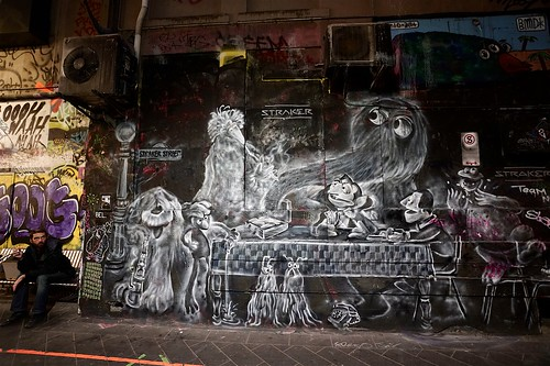 Muppet mural, Centre Place, Melbourne | by Joe Lewit