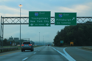 I-76 East Leaves I-80 East Continues Right | by formulanone