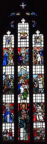 St Luke window (Margaret Edith Aldrich Rope, 1959)