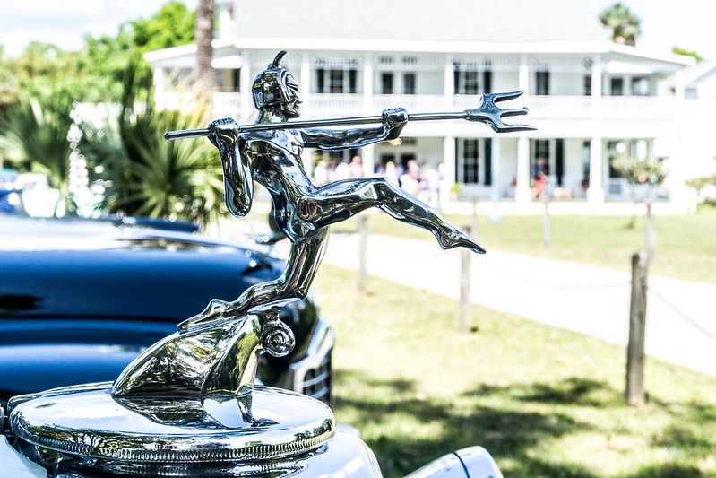 Vintage Car Club Visits Chinsegut Hill Museum, Brooksville, Fla., March 2019