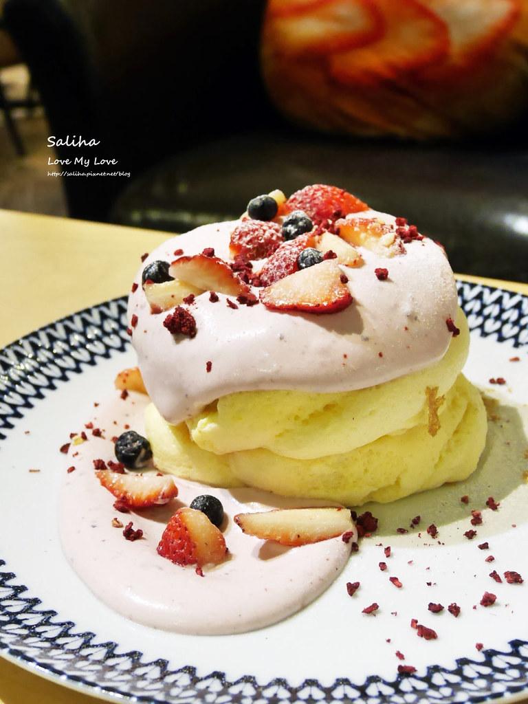 台北松山小巨蛋站咖啡廳甜點店Bubble Cafe舒芙蕾厚鬆餅 (2)