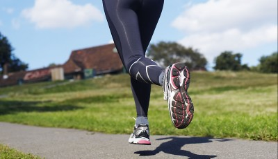 Běhání s kondičními zátěžemi