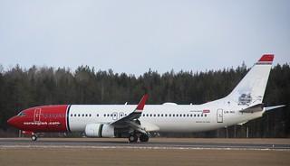 LN-NII Boeing 737-8JP, Norwegian, Stockholm/Arlanda ESSA   by Krister Karlsmoen
