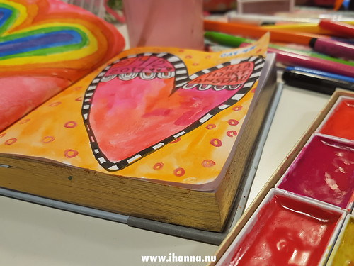 Hearts painted in February 2019 by iHanna | by iHanna