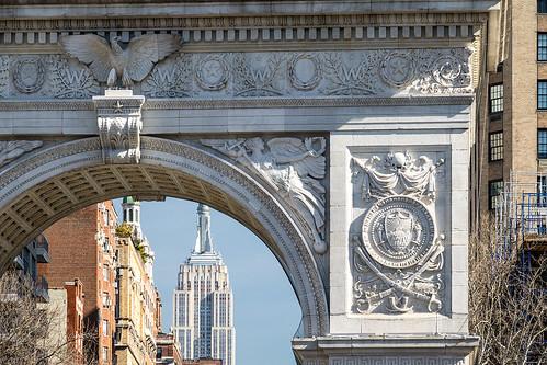 New York City / Washington Square Arch | by Aviller71