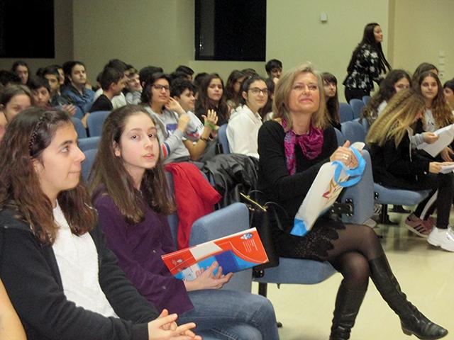 Εκδήλωση Φιλαναγνωσίας Α΄ Γυμνασίου 'Η κόρη στο βυθό'