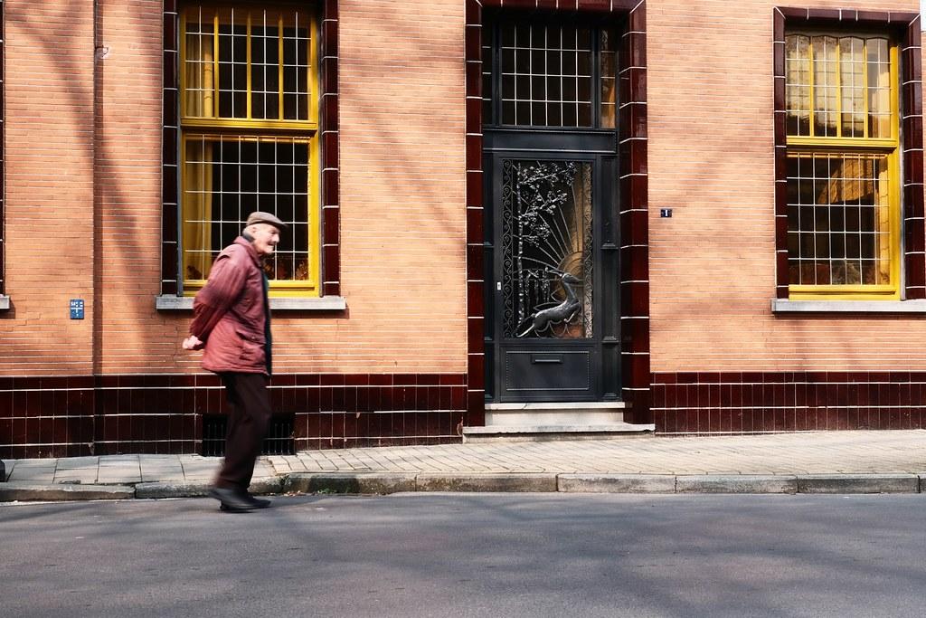 The walking man