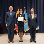 Fri, 03/29/2019 - 14:44 - On Friday, March 29, 2019, the William J. Perry Center for Hemispheric Defense Studies hosted a graduation ceremony for two courses: 'Strategic Implications of Human Rights and Rule of Law' and 'Combating Transnational Threat Networks.' Students from all over the Americas attended the courses from March 18-29, 2019. The graduation ceremony and reception took place in Lincoln Hall at the National Defense University's North Campus at Fort McNair in Washington, DC.