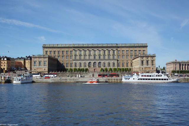 Die Kungliga slottet (Stockholmer Schloss) (28.06.17)