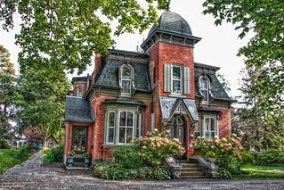Brockville Ontario - Canada - Second Empire Architecture - Heritage  House | by Onasill ~ Bill Badzo