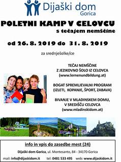 plakat kolonija srednja 2019 | by Dijaski dom Gorica