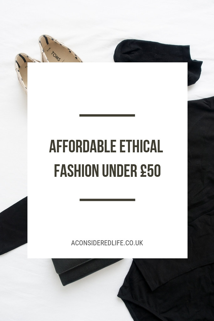 Ethical Fashion Under £50