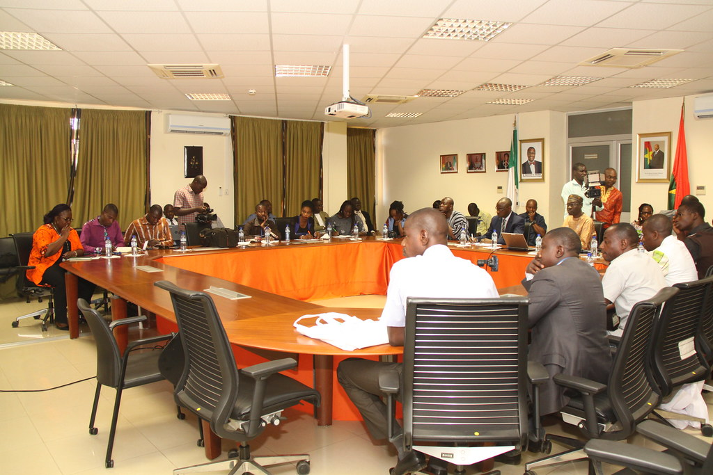 The African Development Bank Group mobilises the press on its active projects