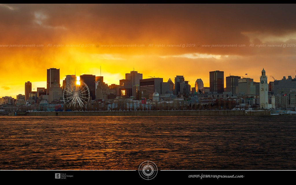 Misty montreal sunset DRI