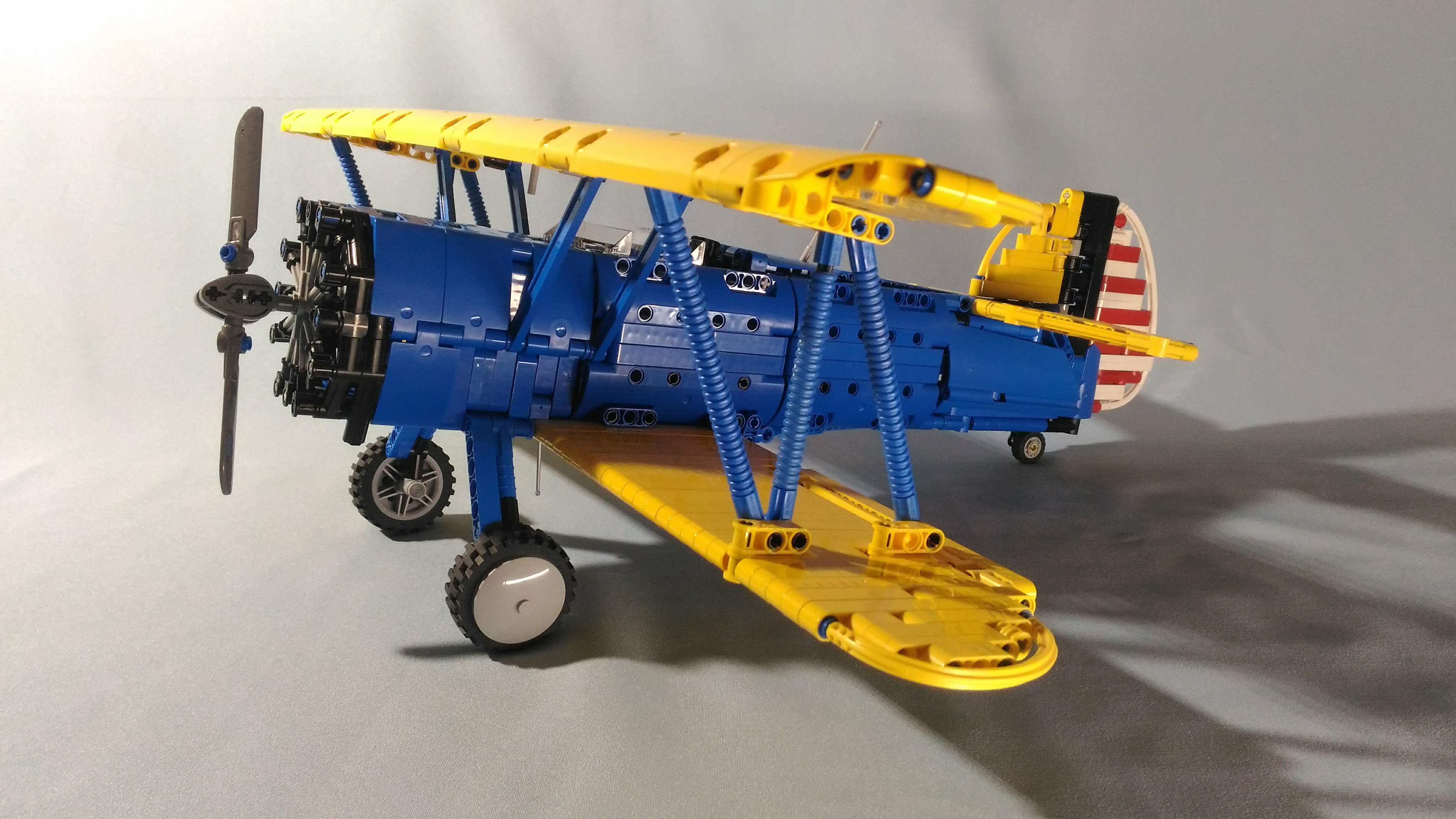 LEGO® MOC by braker23: Boeing Stearman Kaydet PT-17