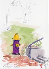 2019 0329 UW fire hydrant by RedHarp