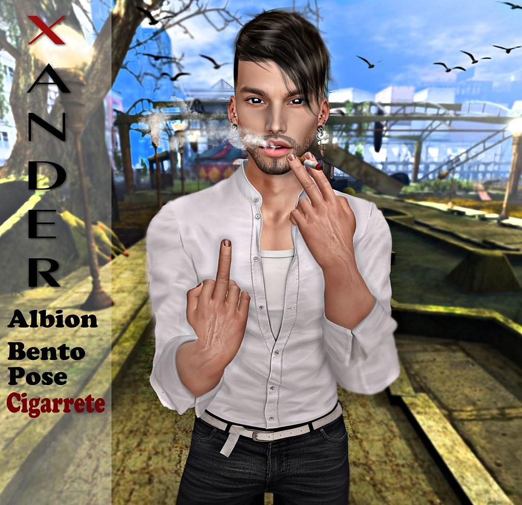 !PROMO! Xander Albion Bento Pose Cigarette #4 #NEW
