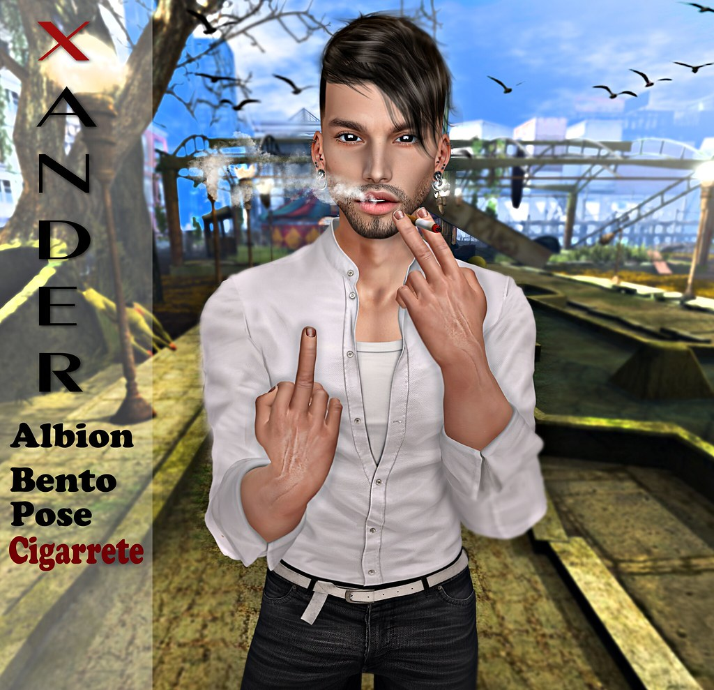 !PROMO! Xander Albion Bento Pose Cigarette #4 #NEW - TeleportHub.com Live!