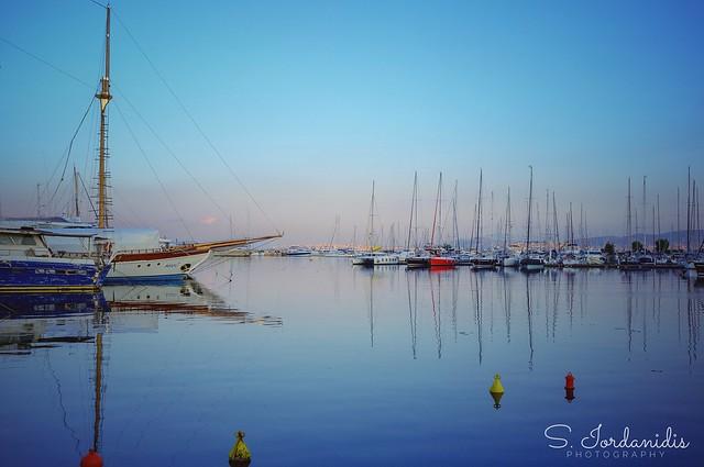 Sunrise Reflections, Alimos - Athens