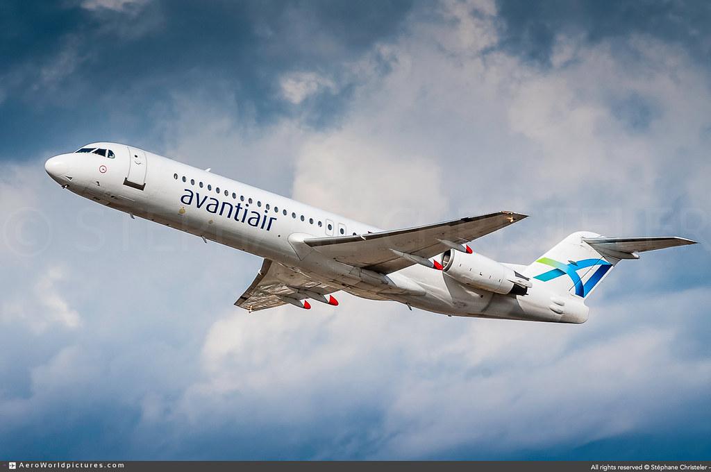 [ORY.2018] #Avantiair #AVT #Fokker #F100 #D-AGPH #awp