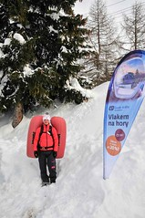 Lavinová prevence, trénink, přednášky, odpaly batohů… I to je tradiční součást SNOWfestu.