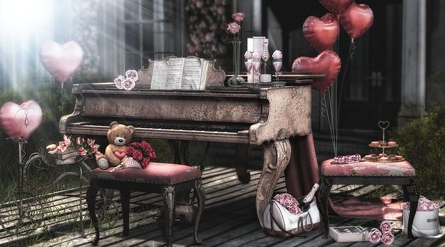 pink valentines day
