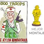 Mejor Montaje: 5000 Troops de ayuda humanitaria