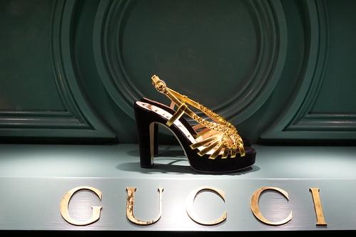 Gucci store window, Geneva