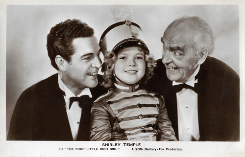 Shirley Temple, Michael Whalen and Claude Gillingwater in Poor Little Rich Girl (1936)