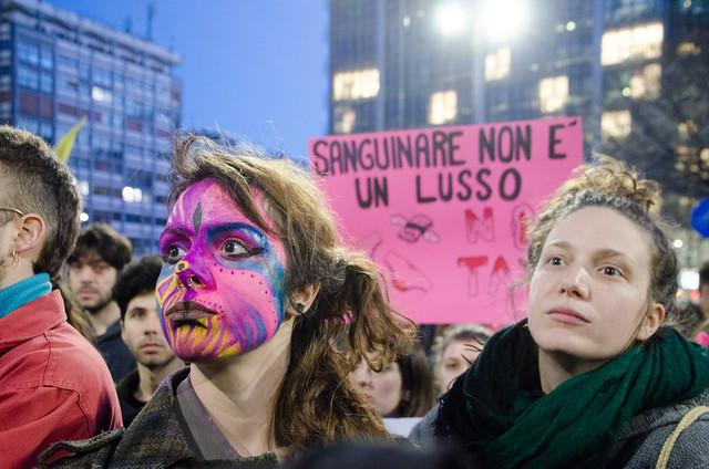 International Women Day 8M in Milan