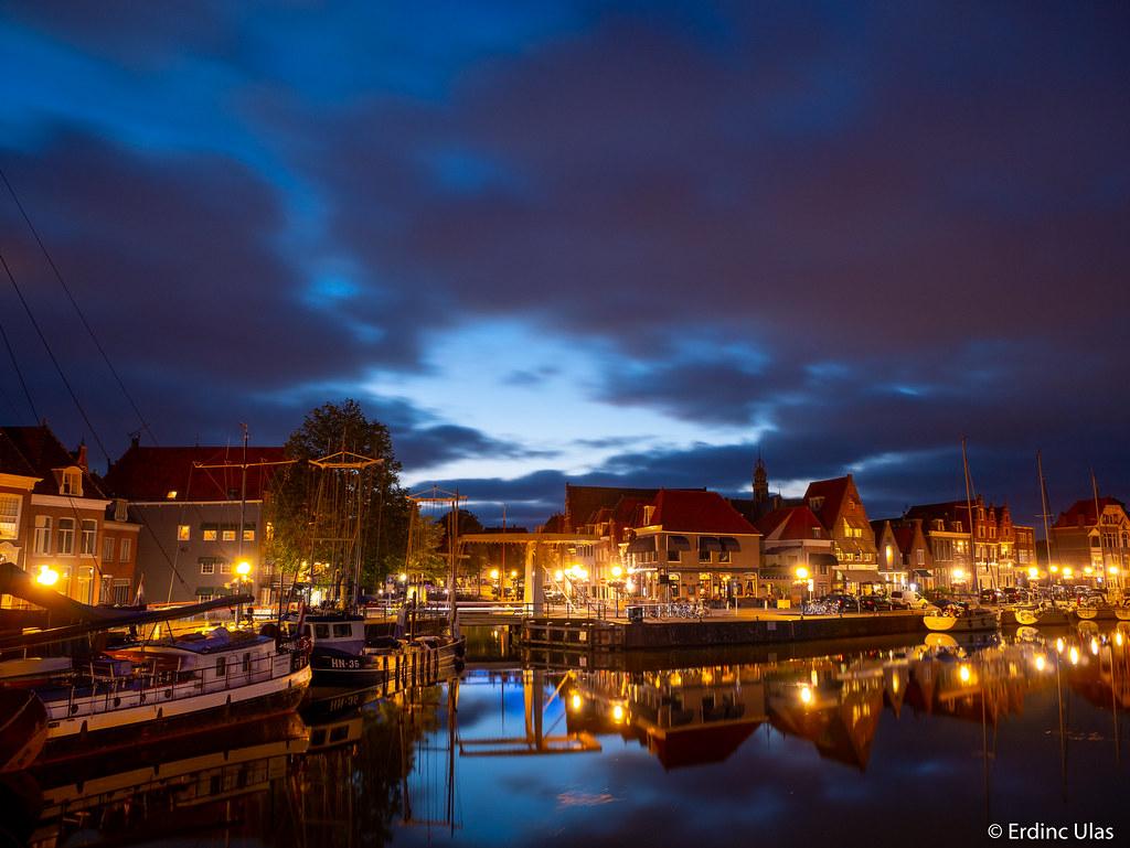 Blue hour in Hoorn