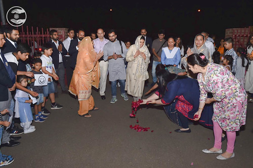 Arrival of Satguru Mata Ji at Satsang Bhawan