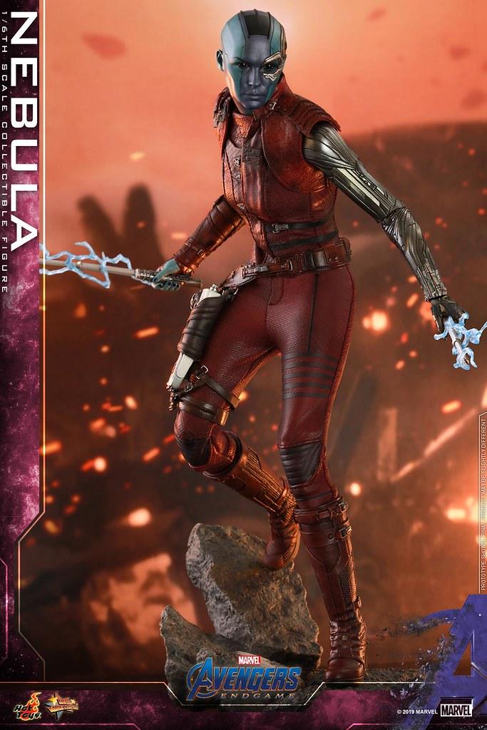 Hot Toys – MMS534 -《復仇者聯盟:終局之戰》涅布拉 Nebula 1/6 比例人偶作品