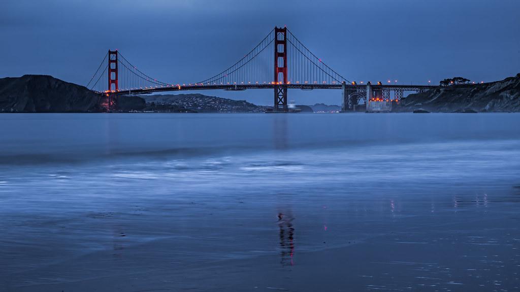 Golden Gate Bridge. (explored)
