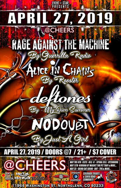 Rage Against The Machine/Alice in Chains/deftones/No Doubt Tributes
