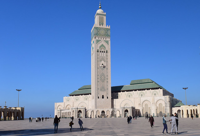 Great Mosque, Casablanca, Morocco, January 2019 D810 1023