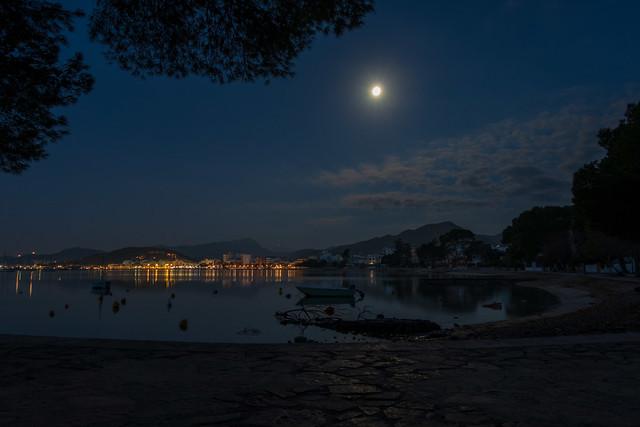 GR221 - Tag 10 - Port de Pollenca vor dem Sonnenaufgang