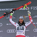 GARMISCH-PARTENKIRCHEN,GERMANY,27.JAN.19 - ALPINE SKIING - FIS World Cup, downhill, ladies, award ceremony. Image shows the rejoicing of Stephanie Venier (AUT). Photo: GEPA pictures/ Thomas Bachun, foto: GEPA pictures/ Thomas Bachun