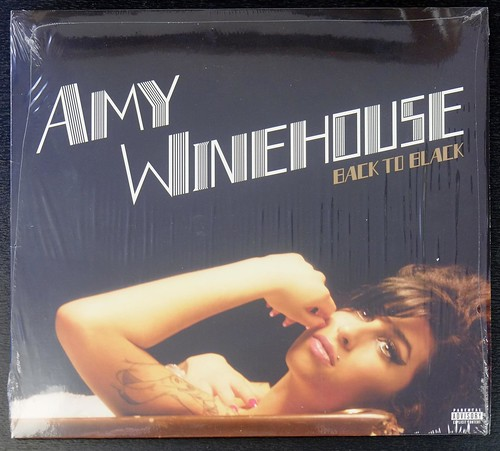 "Amy Winehouse Back to Black MINT 12"" LP VINYL"