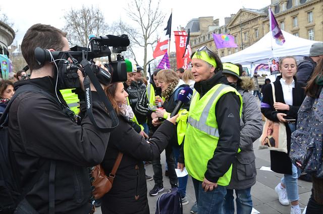 8 mars 2019 - Paris République